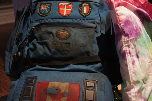 Old backpack