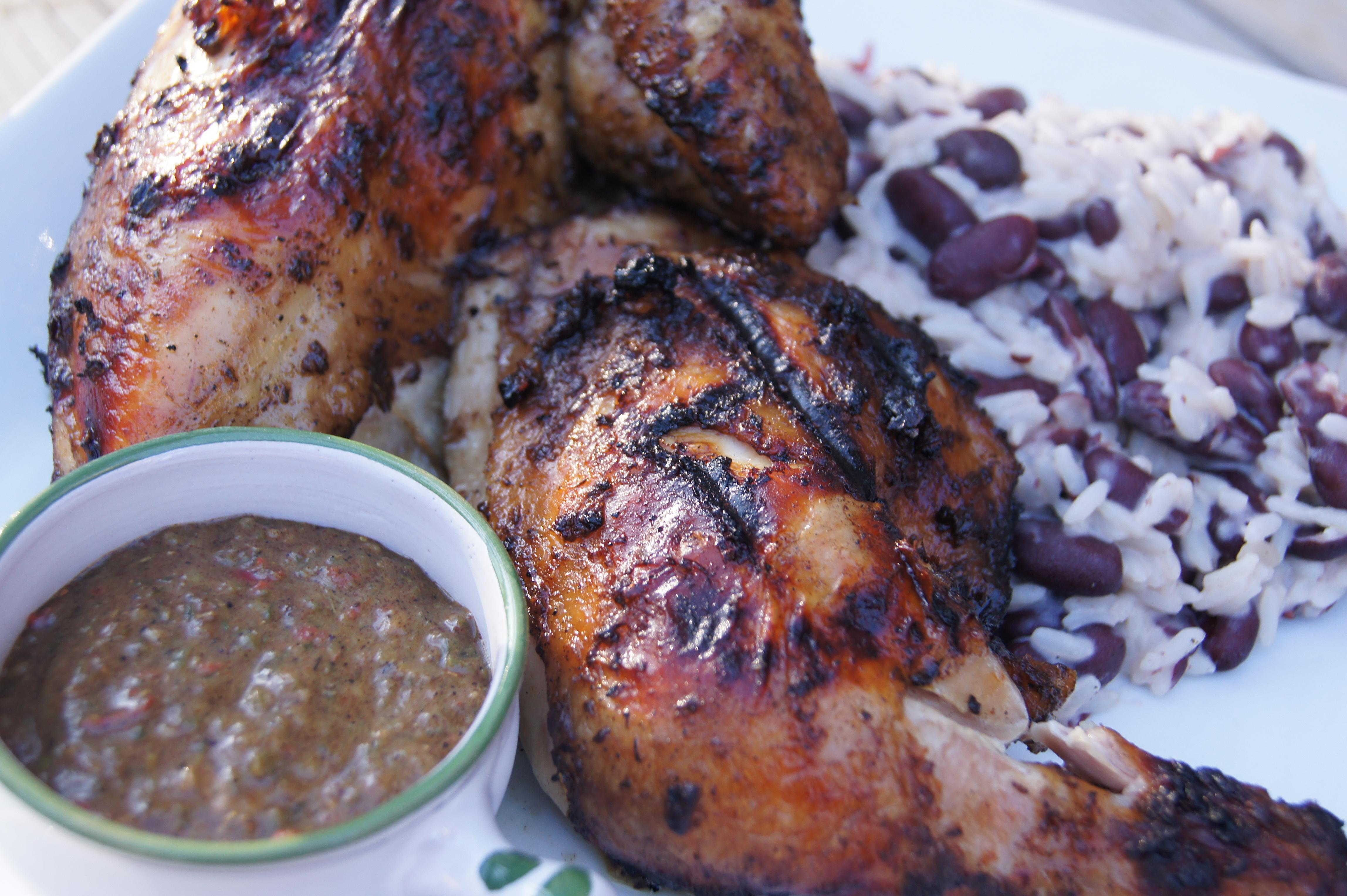 Jerk Chicken | Profiteroles & Ponytails
