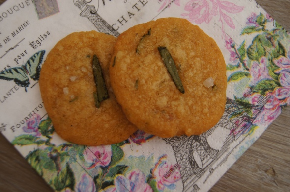Rosemary Crackies